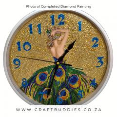 Diamond Painting Clock