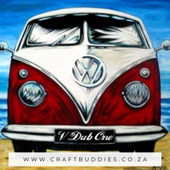 Diamond Painting VW Bus