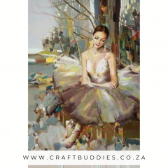 Diamond Painting Balerina