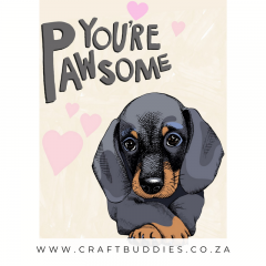 Dachshund Diamond Painting