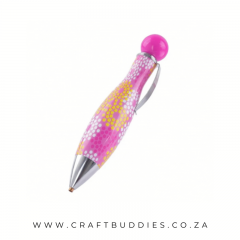 CB-Pen-DDP-Bullet-Pink with flowers